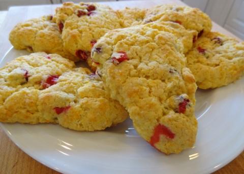 Cranberry-Mandarin Scones