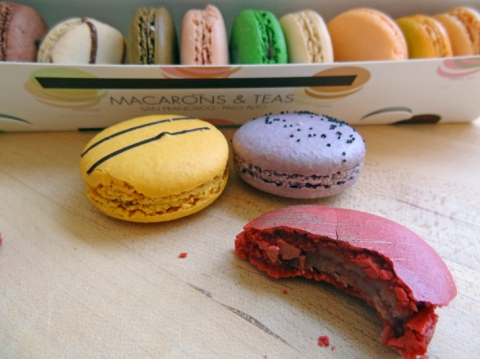 Macarons from Chantal Guillon in Palo Alto