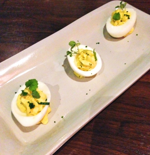 Deviled Eggs, Chive, Shallot, Mustard, Aioli