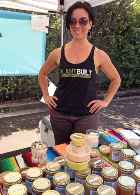 Katie of Nut n' Bean nut butters, dips, and spreads