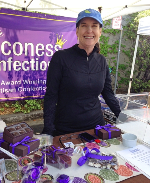 Shelly Seward: Owner/confectioner/creator of Her Coconess, award-winning confections
