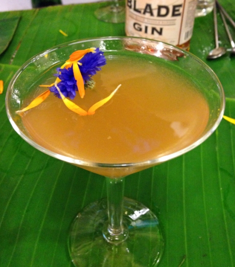 Rusty Blade Gin's summer celebration cocktail