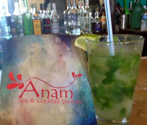 Mojito at Anam's bar