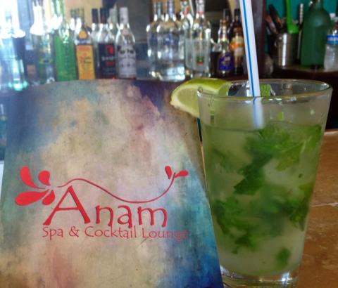 Mojito at Anam's bar