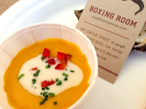 Pumpkin Soup from Boxing Room: buzzworthy