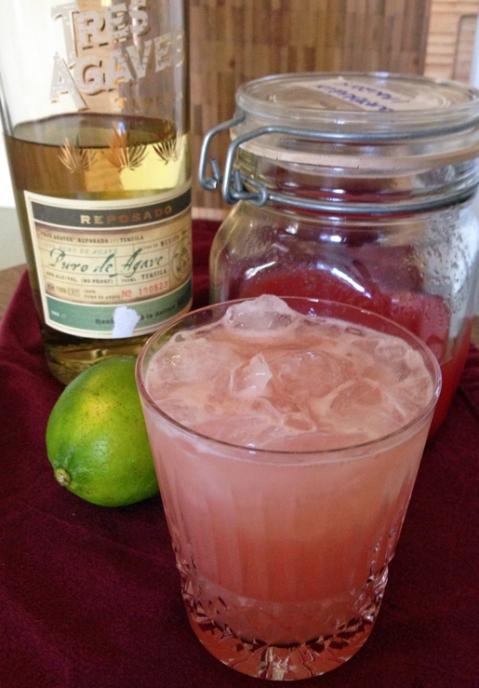 Salted Watermelon Tequila Smash, recipe from Imbibe Magazine