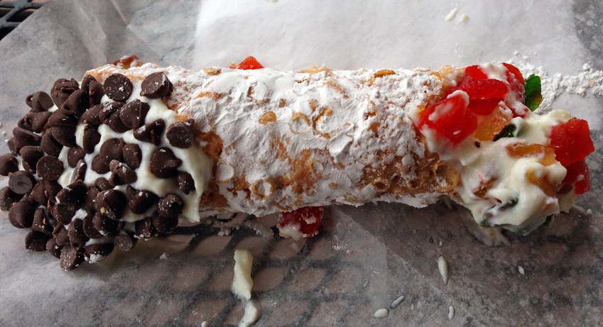 Ricotta-Filled Chocolate Cannoli Recipe — Dishmaps
