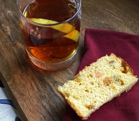 What you need: a Christmas Toddy (and maybe some panettone, too)