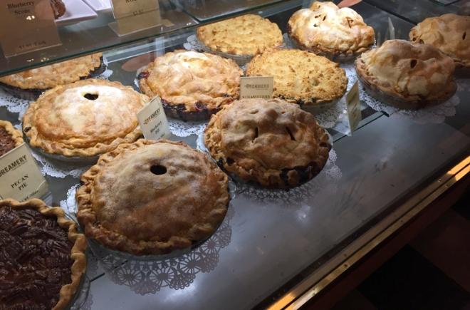 Palo Alto Creamery's bakery case