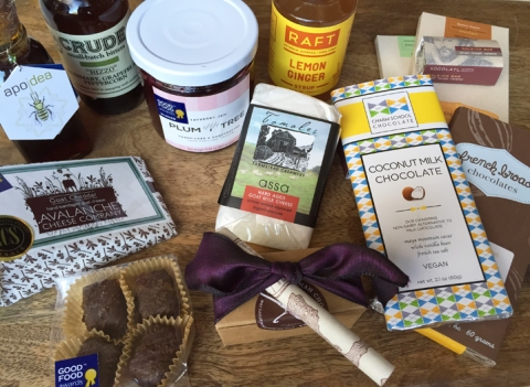My haul from the 2015 Good Food Awards Marketplace