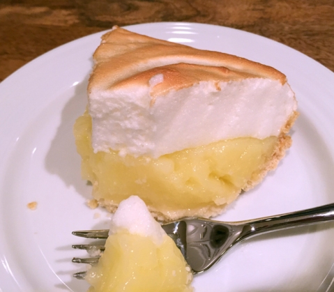 Pilgrim Kitchen's Lemon Meringue Pie: A little slice of pie heaven
