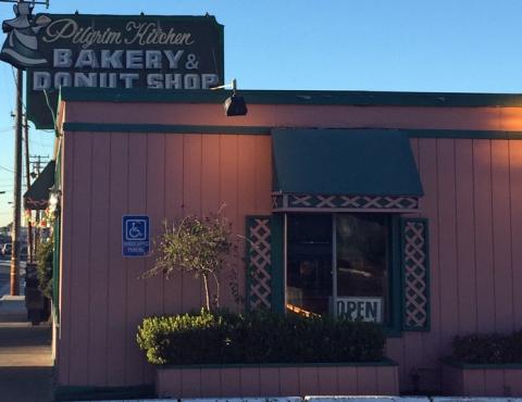Pilgrim Kitchen Bakery & Donut Shop in Belmont