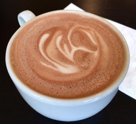 Afternoon indulgence: TCHO hot chocolate at Kingston Cafe