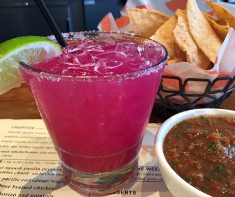 Not just a pretty face, the Nopal is probably Tacolicious' best margarita!