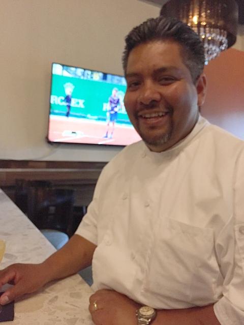Chef Manuel Martinez of La Viga and LV Mar in Redwood City