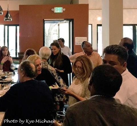 Redwood City Restaurant Week kickoff party at LV Mar on April 16