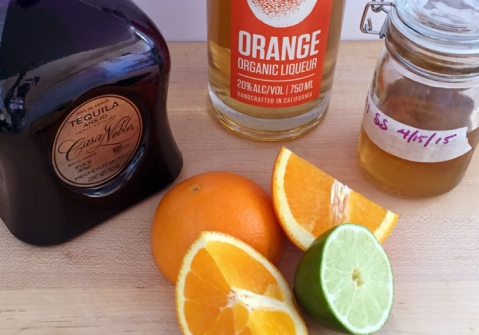Start your weekend off right: Five ingredients to a fresh Orange Margarita