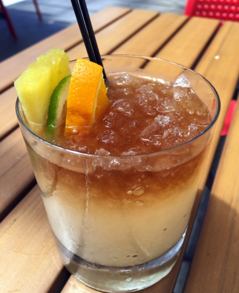 Can't get to the beach? Take a tropical break with Howie's Mai-Tai.