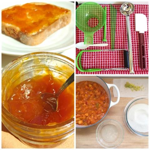 Homemade Backyard Apricot-Lime Jam