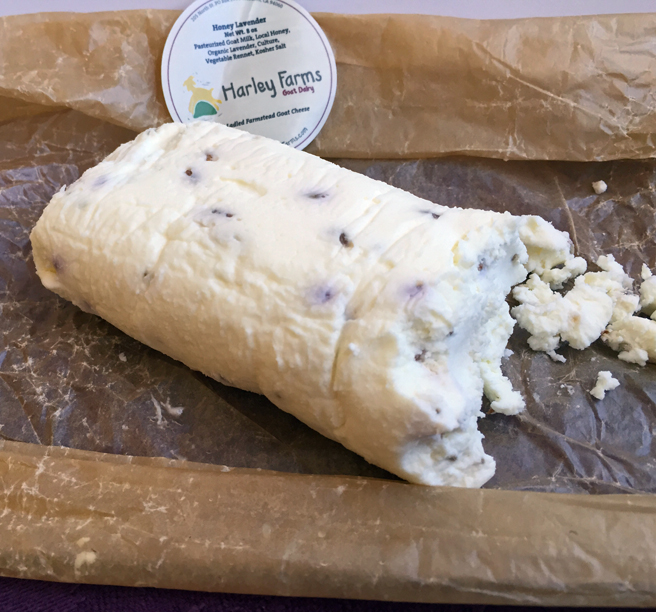 Harley Farms Honey Lavender Chevre