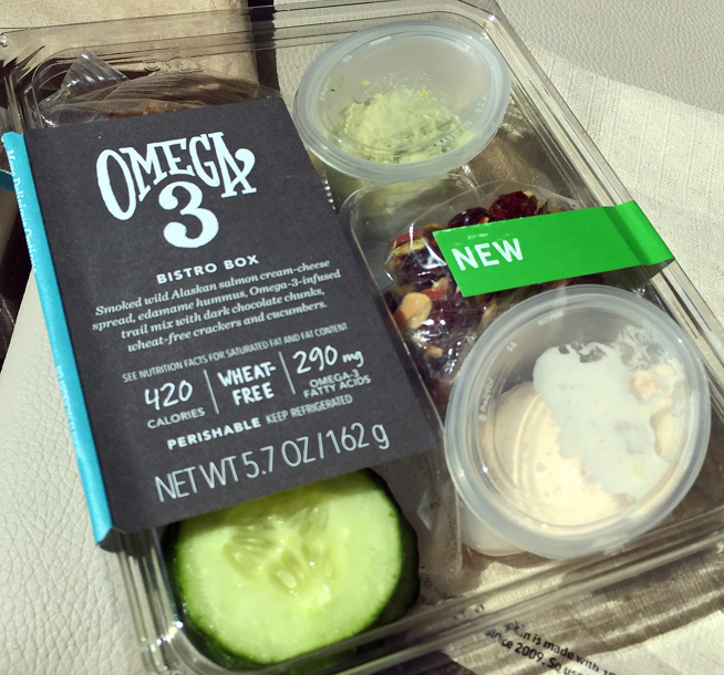Starbucks' Omega 3 Bistro Box