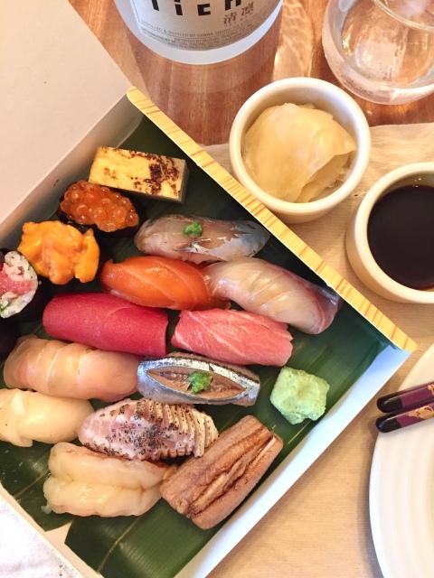 Sushi Shin 15-piece box